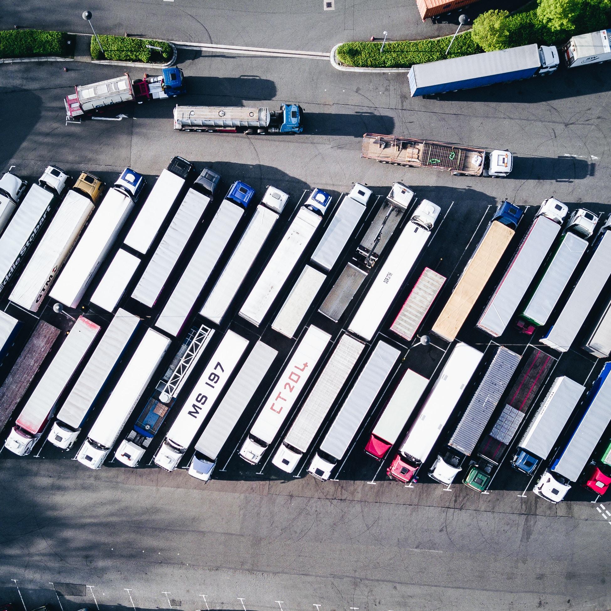 trucks-in-line